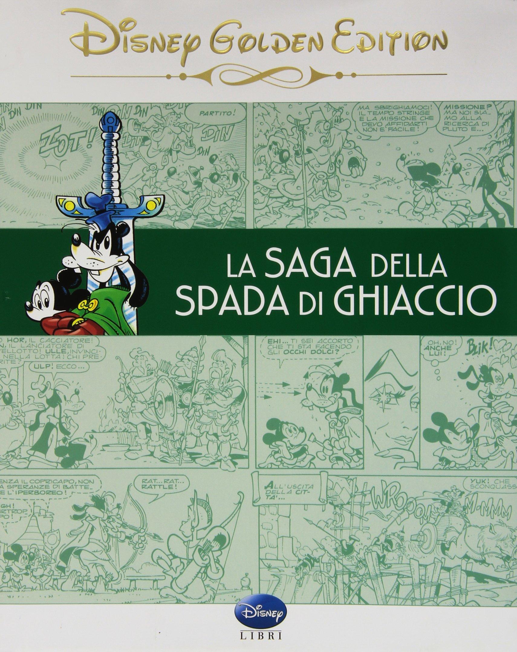 Cover Disney Golden Edition 3 - La saga della spada di ghiaccio