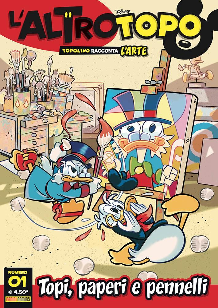 Cover L'altro Topo 1 - Topi, paperi e pennelli