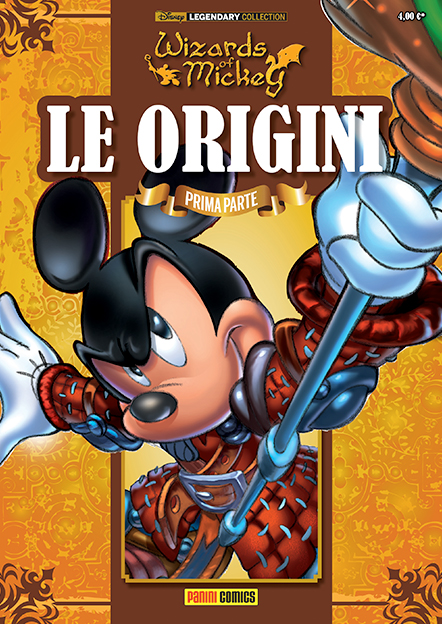 Cover Legendary Collection 1 - Wizards of Mickey - Le origini (prima parte)