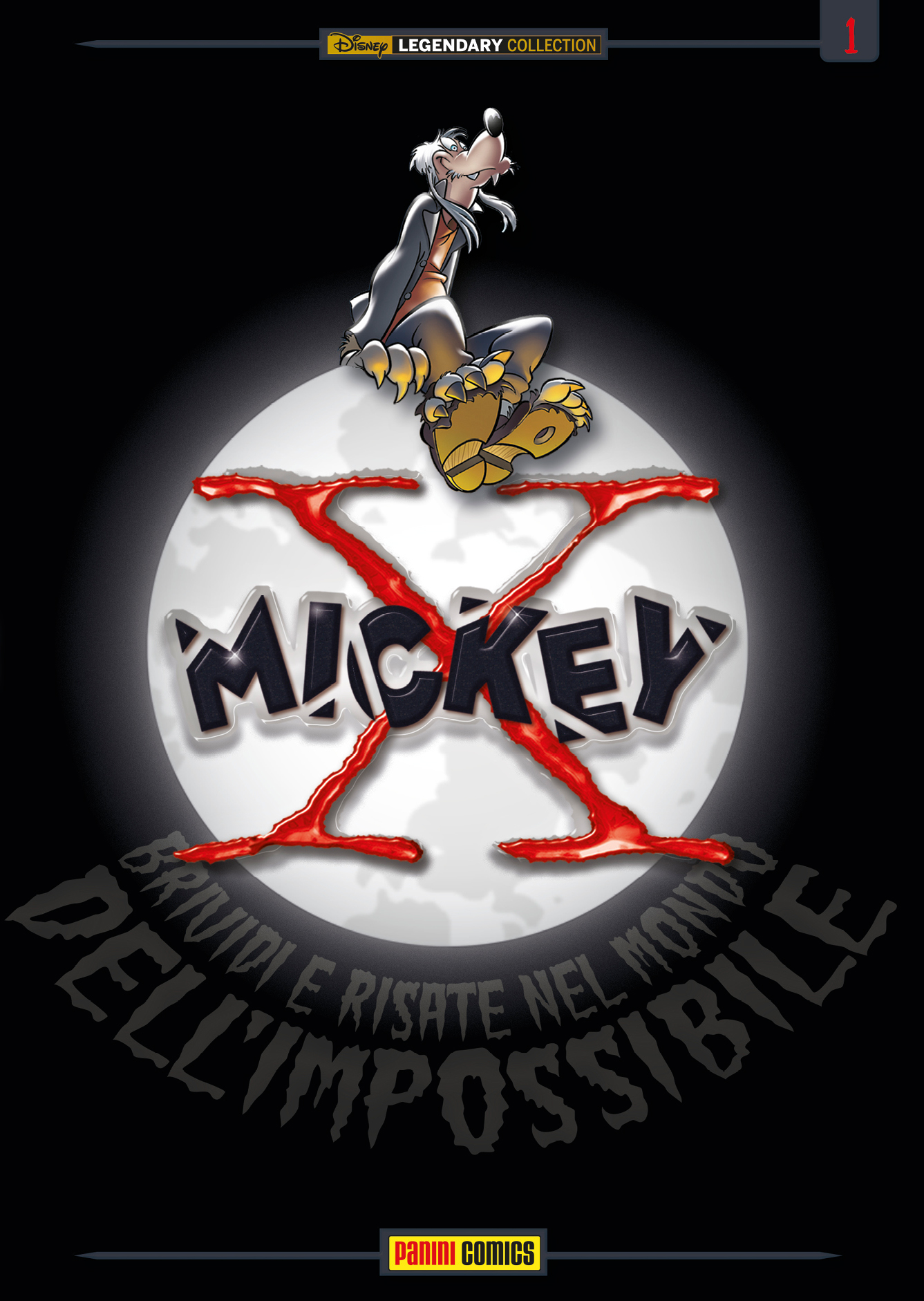 Cover variant Legendary Collection 10 - X-Mickey 1