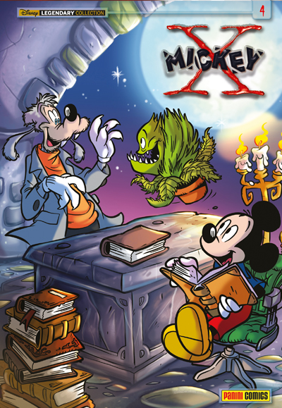 Cover Legendary Collection 13 - X-Mickey 4