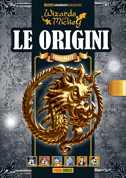 Cover variant Legendary Collection 1 - Wizards of Mickey - Le origini (prima parte)