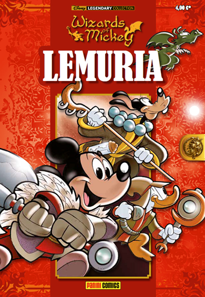 Cover Legendary Collection 8 - Wizards of Mickey - Lemuria