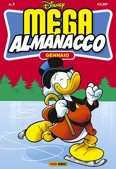 Cover Mega Almanacco 1 - Gennaio
