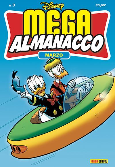Cover Mega Almanacco 3 - Marzo