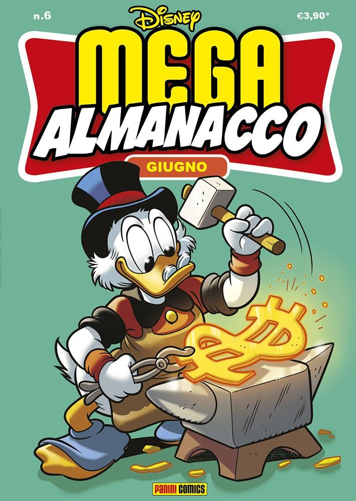 Cover Mega Almanacco 6 - Giugno