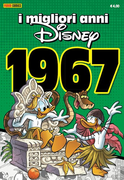 Cover I migliori anni Disney 8 - 1967