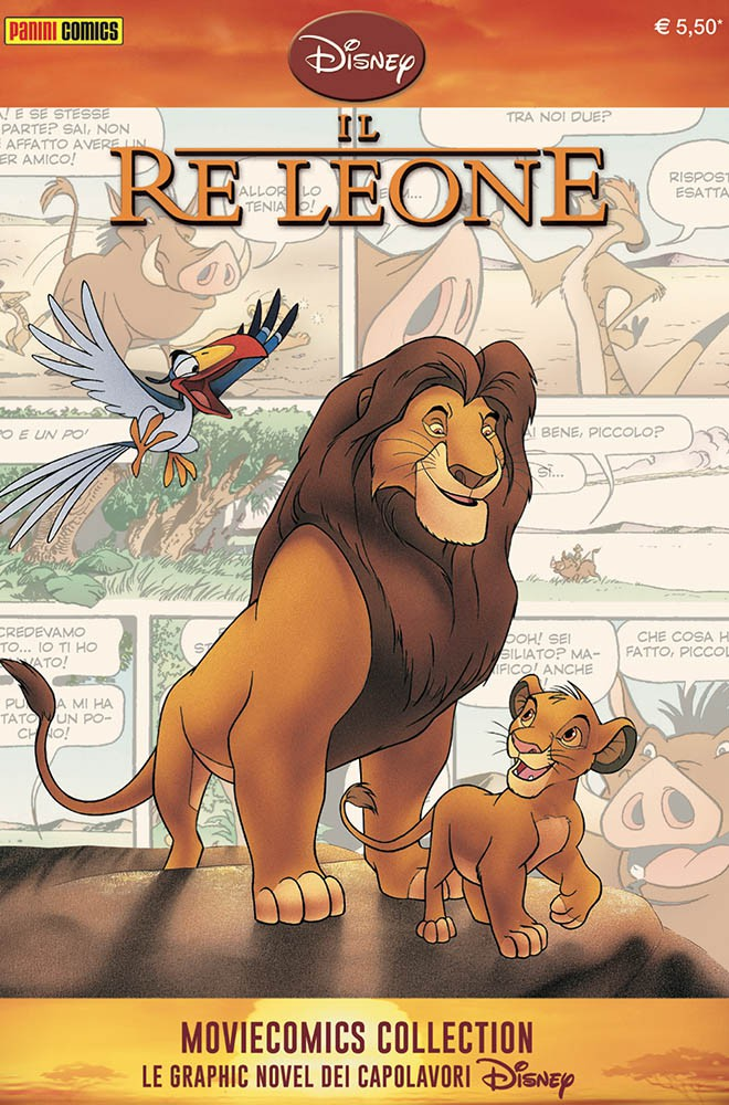 Cover Disney Moviecomics Collection 3 - Il Re Leone