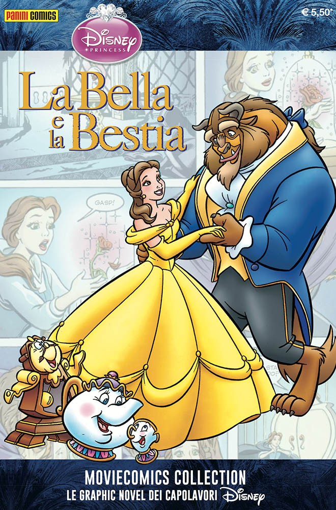 Cover Disney Moviecomics Collection 6 - La bella e la bestia
