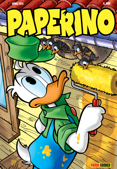 Cover Paperino 406