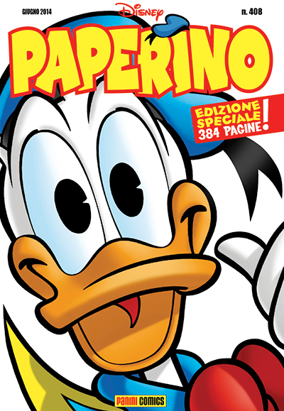 Cover Paperino 408