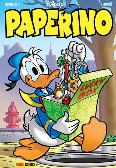 Cover Paperino 413