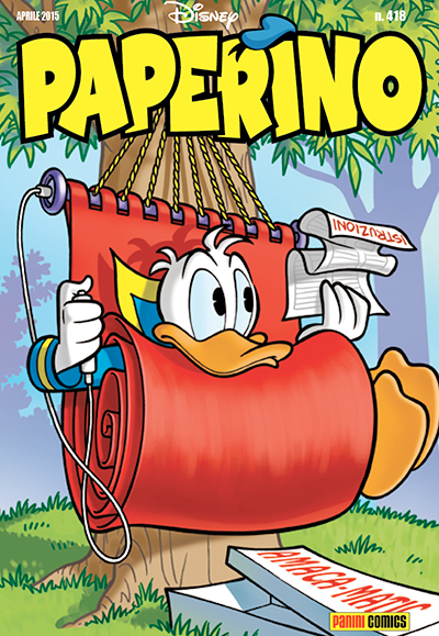 Cover Paperino 418