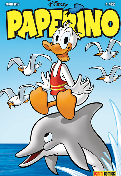 Cover Paperino 422