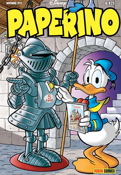Cover Paperino 425
