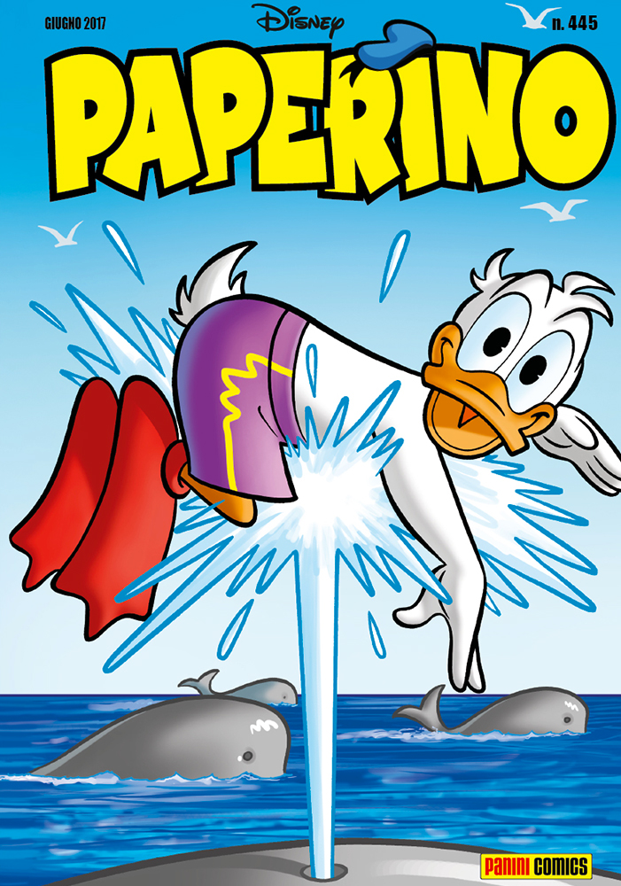 Cover Paperino 445