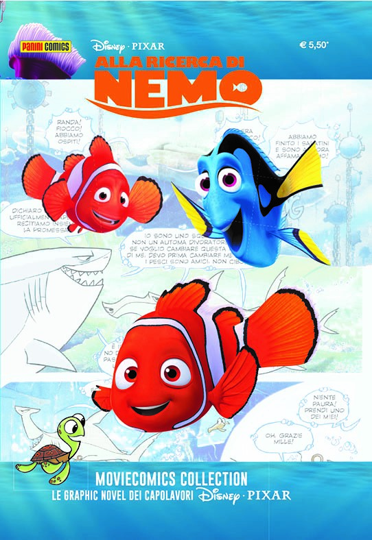 Cover Disney Pixar Moviecomics Collection 2 - Alla ricerca di Nemo