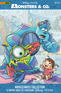 Cover Disney Pixar Moviecomics Collection 3 - Monsters & co.