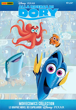 Cover Disney Pixar Moviecomics Collection 4 - Alla ricerca di Dory