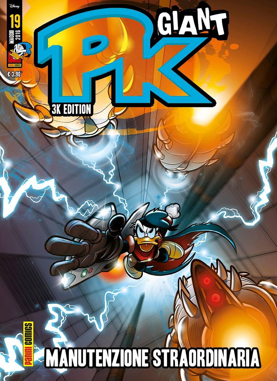 Cover Pk Giant 19 - Manutenzione straordinaria