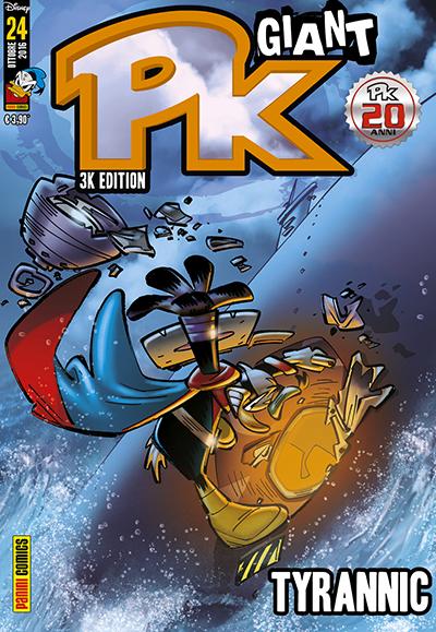 Cover Pk Giant 24 - Tyrannic