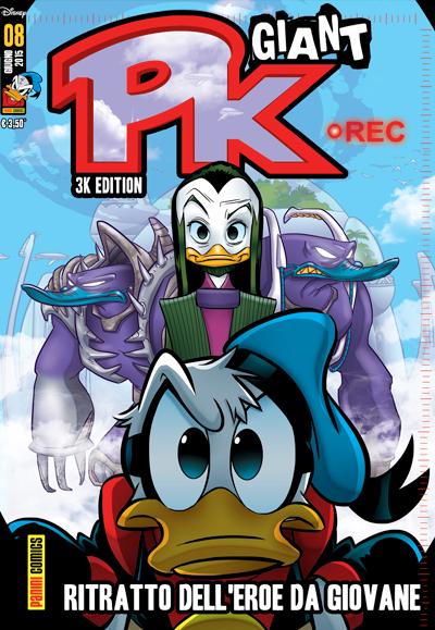 Cover Pk Giant 8 - Ritratto dell'eroe da giovane