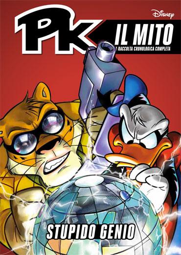 Cover Pk: il mito 25 - Stupido genio
