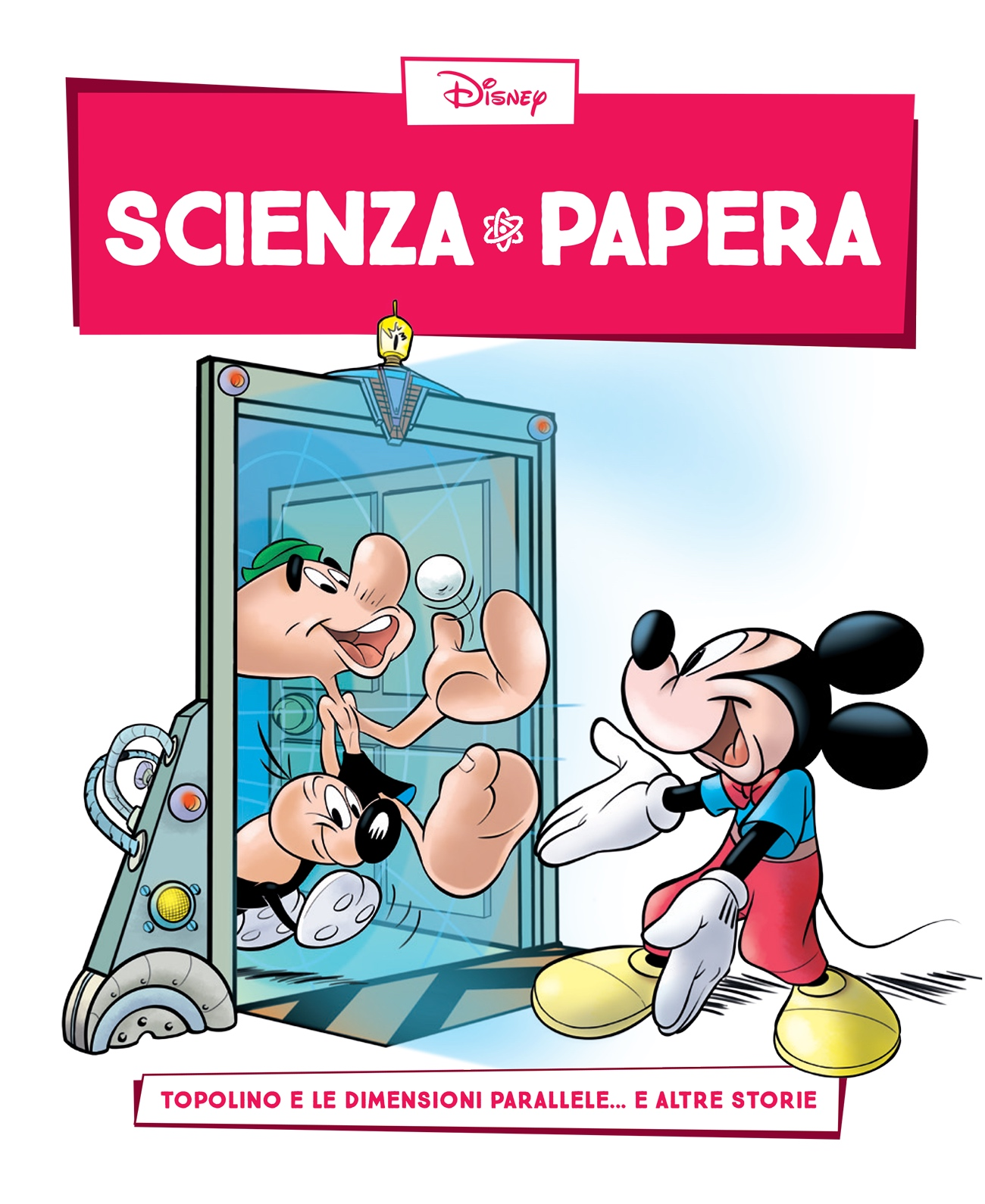 Cover Scienza Papera 10 - Dimensioni parallele e mondi alternativi