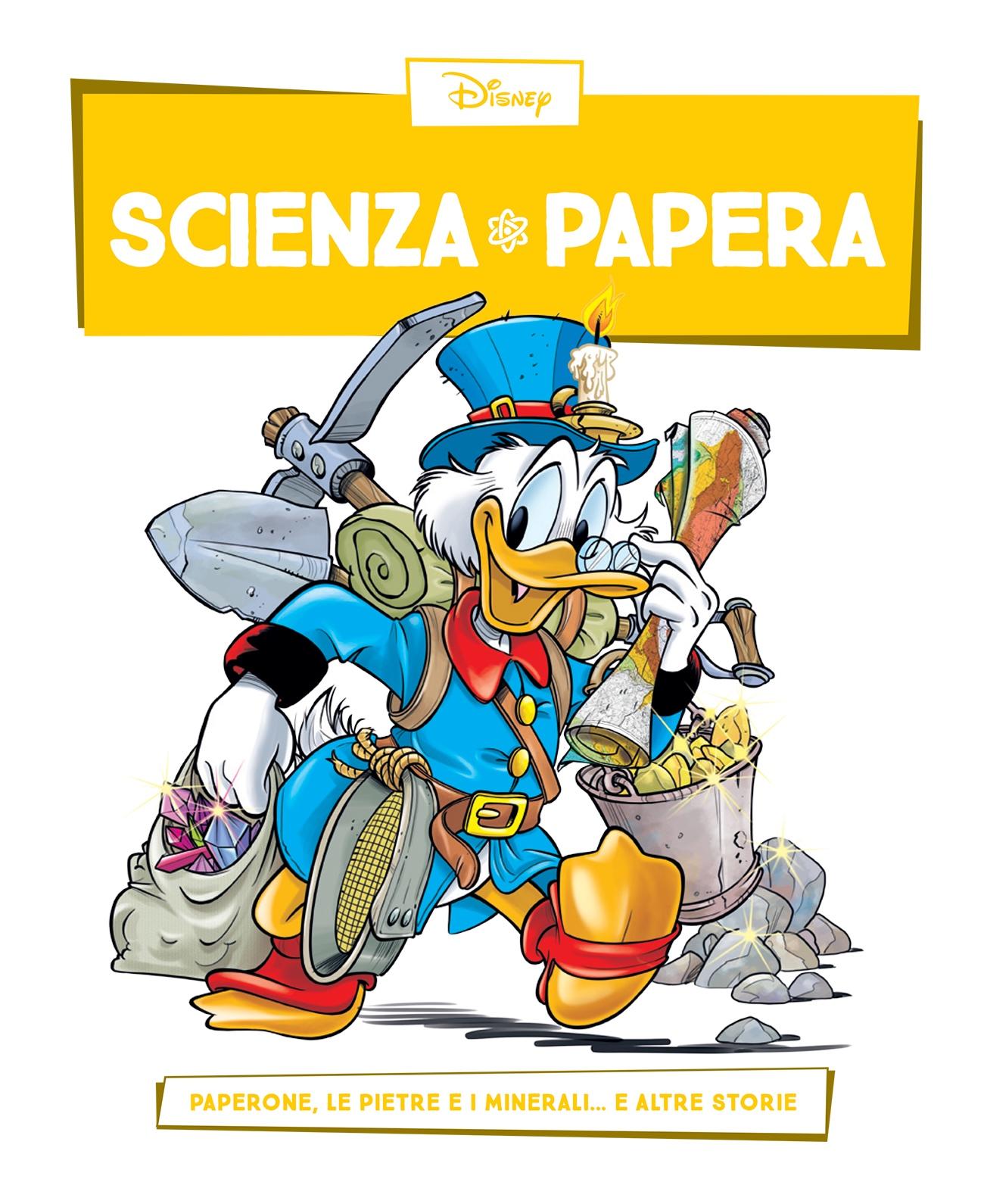 Cover Scienza Papera 11 - Geologia e metalli preziosi