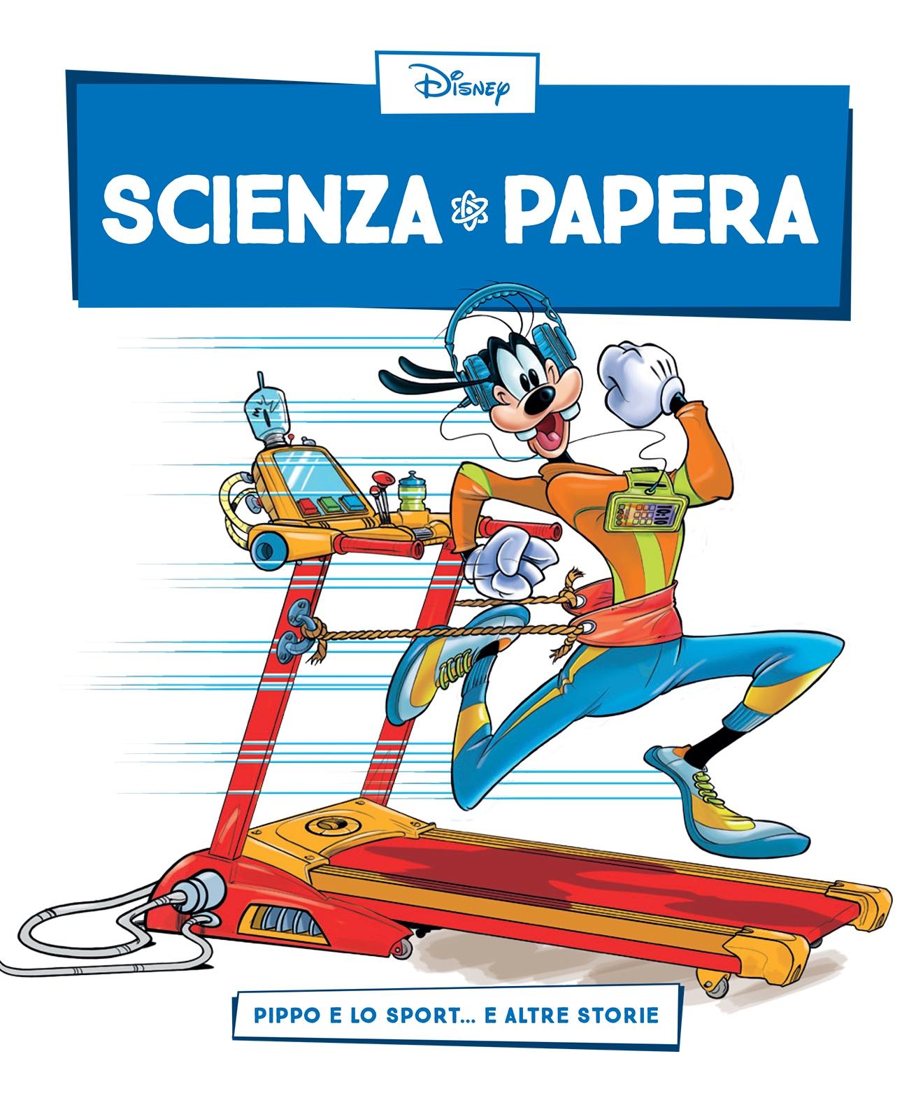 Cover Scienza Papera 13 - Sport e tecnologia
