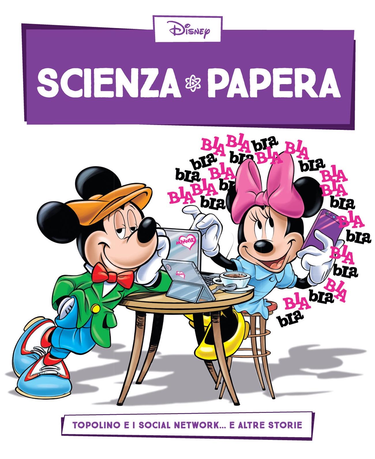 Cover Scienza Papera 14 - Telefonia e social network