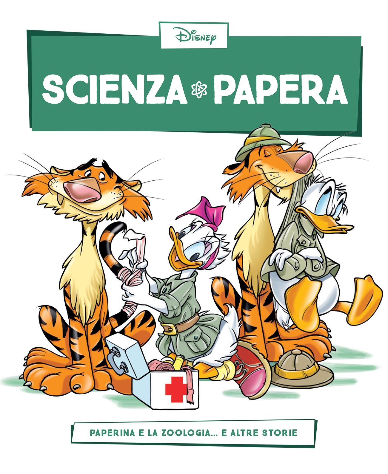 Cover Scienza Papera 16 - Zoologia ed etologia