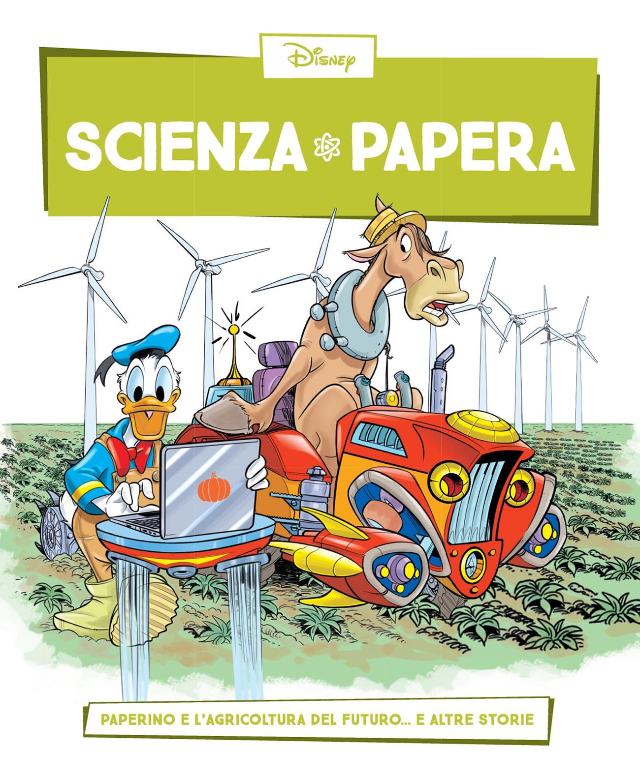 Cover Scienza Papera 19 - Botanica e coltivazioni nel futuro