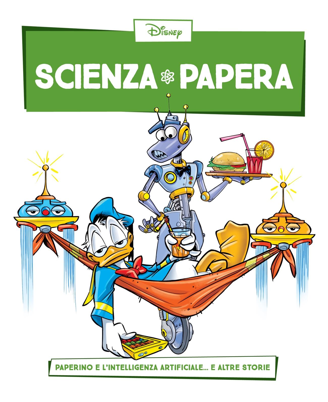 Cover Scienza Papera 2 - Robot e intelligenza artificiale