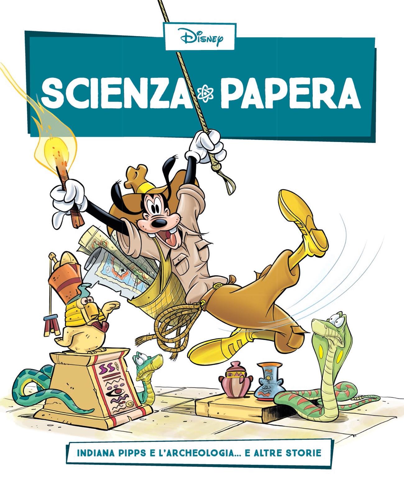 Cover Scienza Papera 21 - Archelogia e paleontologia