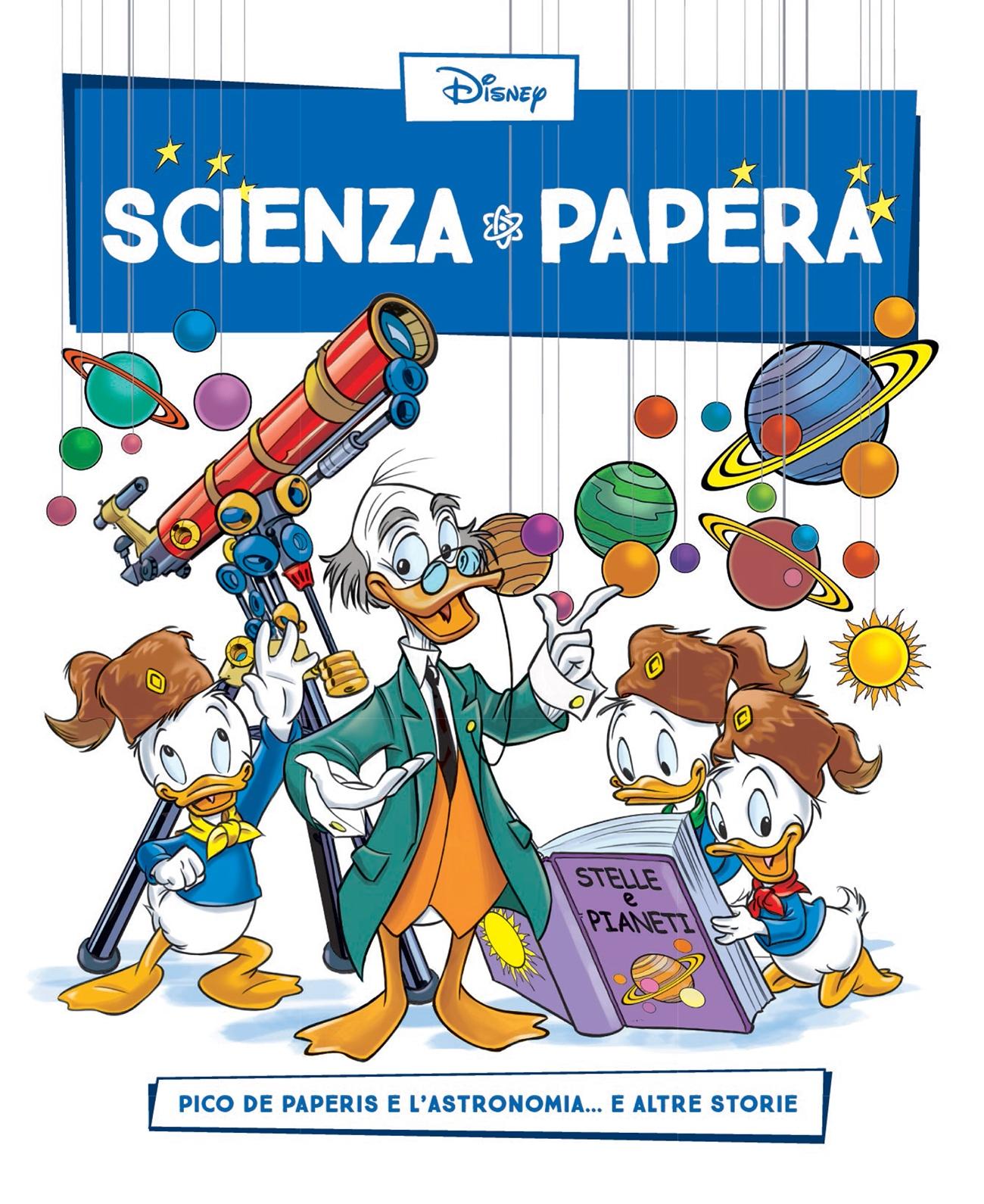 Cover Scienza Papera 23 - Astronomia
