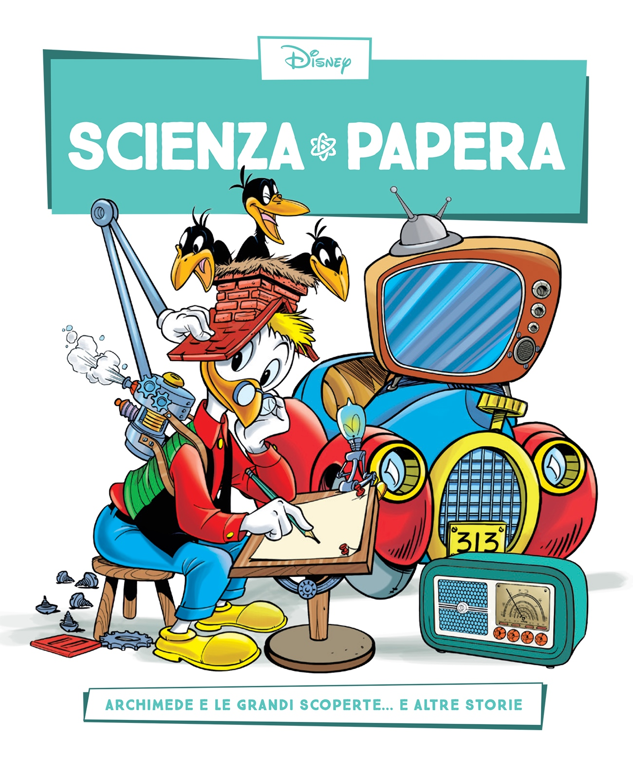 Cover Scienza Papera 24 - Grandi scoperte