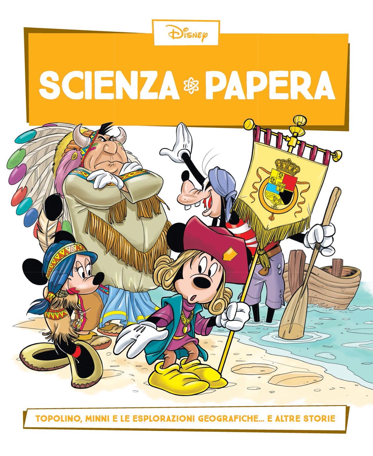 Cover Scienza Papera 25 - Esplorazioni geografiche