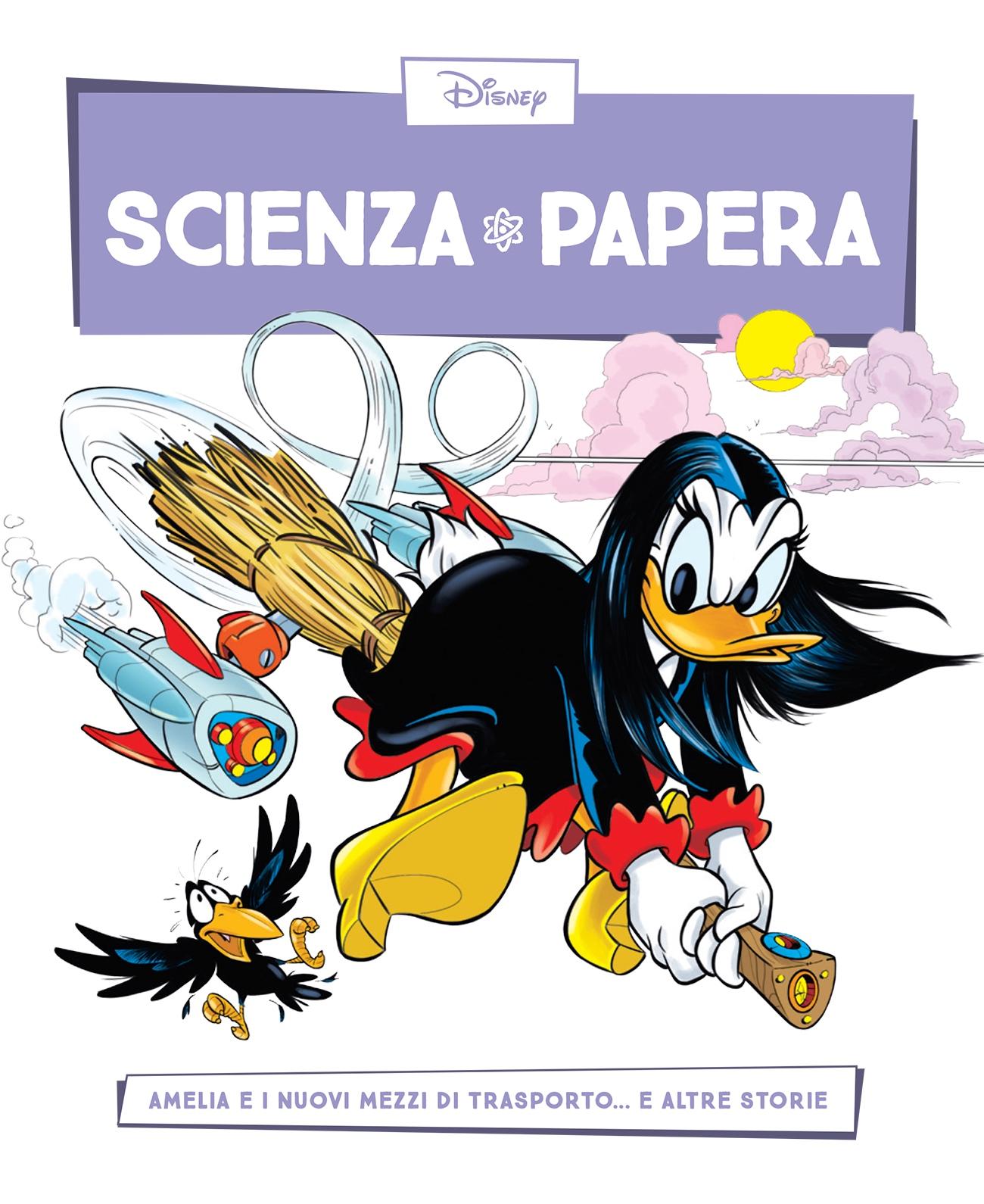 Cover Scienza Papera 29 - Evoluzione dei mezzi di trasporto