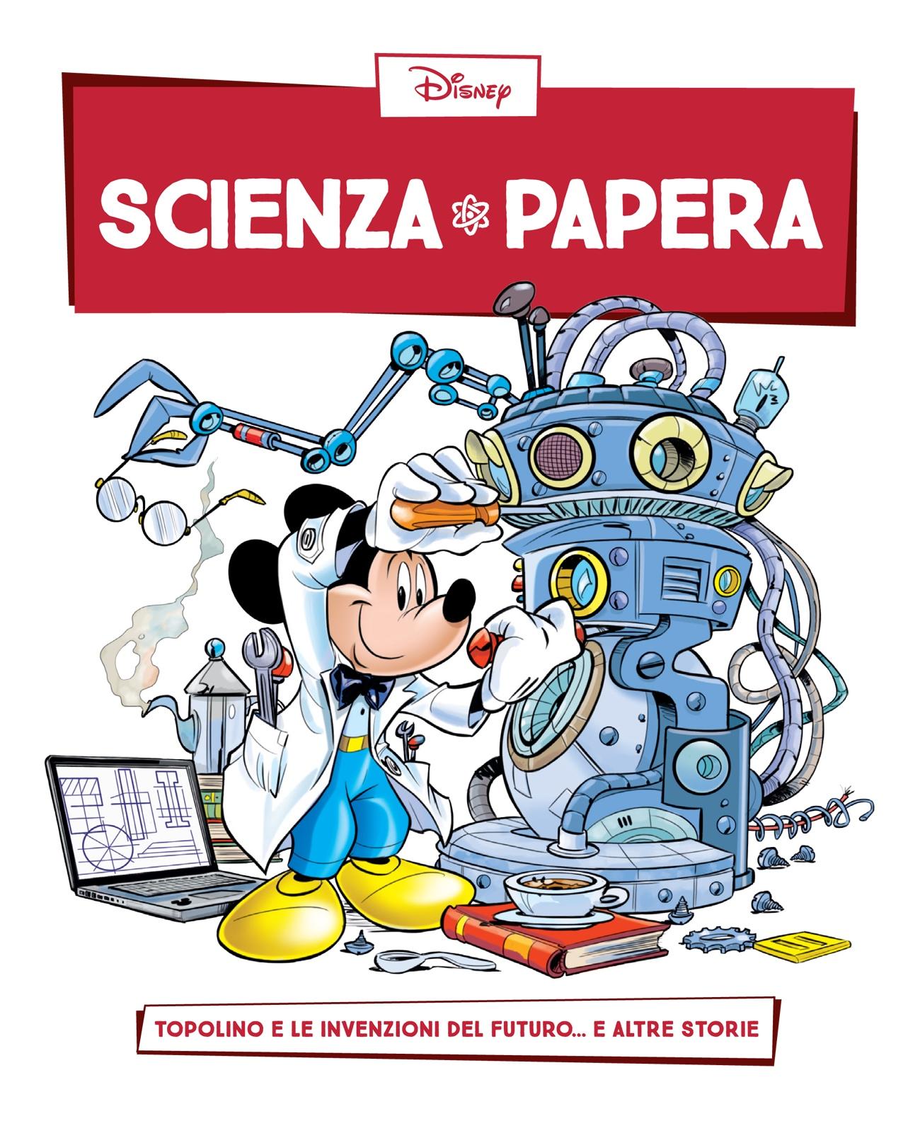 Cover Scienza Papera 3 - Invenzioni del futuro