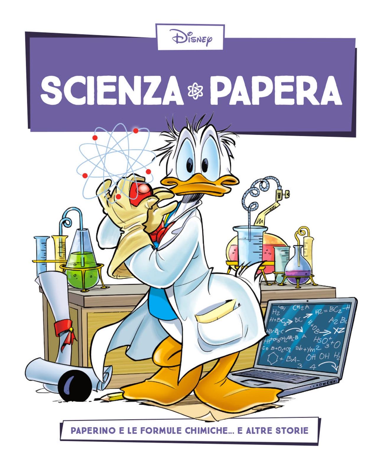 Cover Scienza Papera 4 - Atomi e formule chimiche