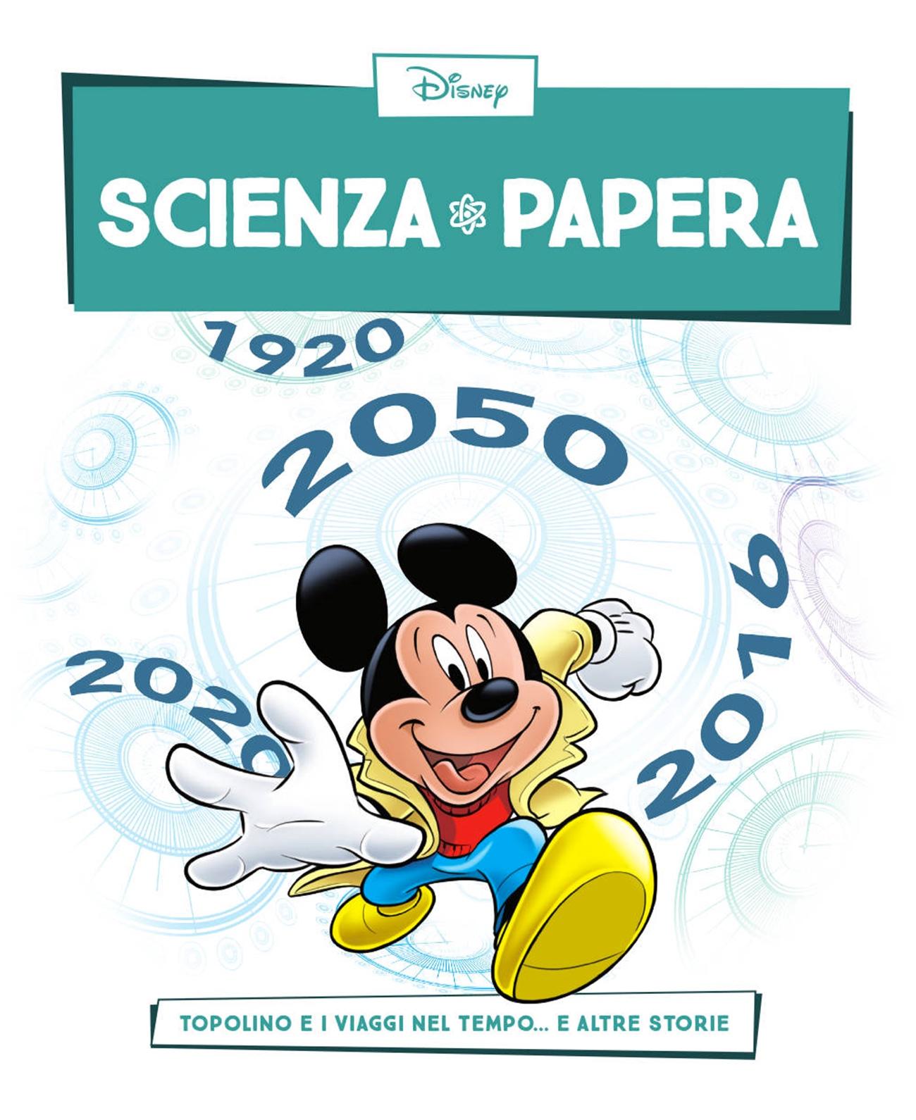 Cover Scienza Papera 6 - Viaggi nel tempo