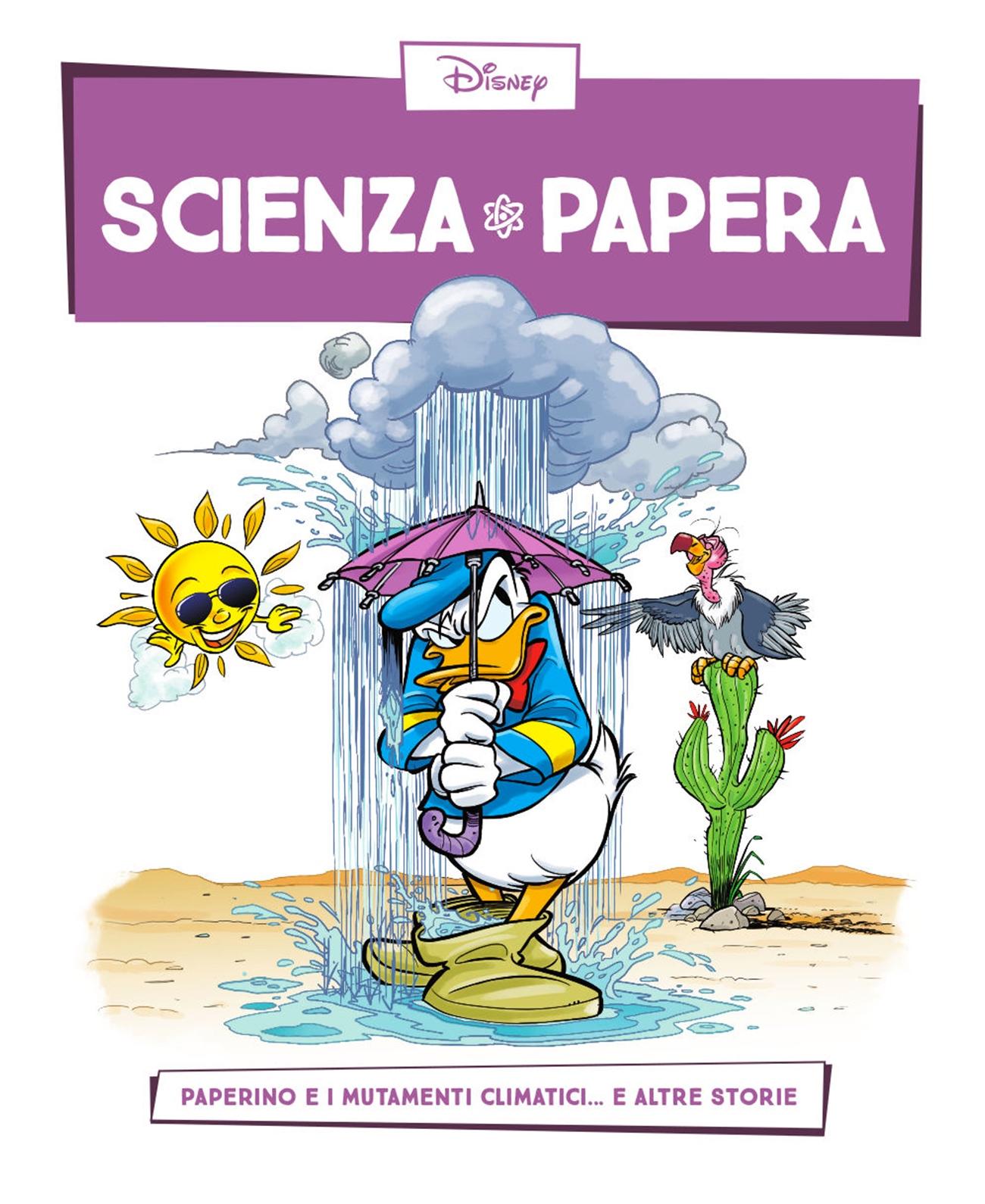 Cover Scienza Papera 7 - Mutamenti climatici