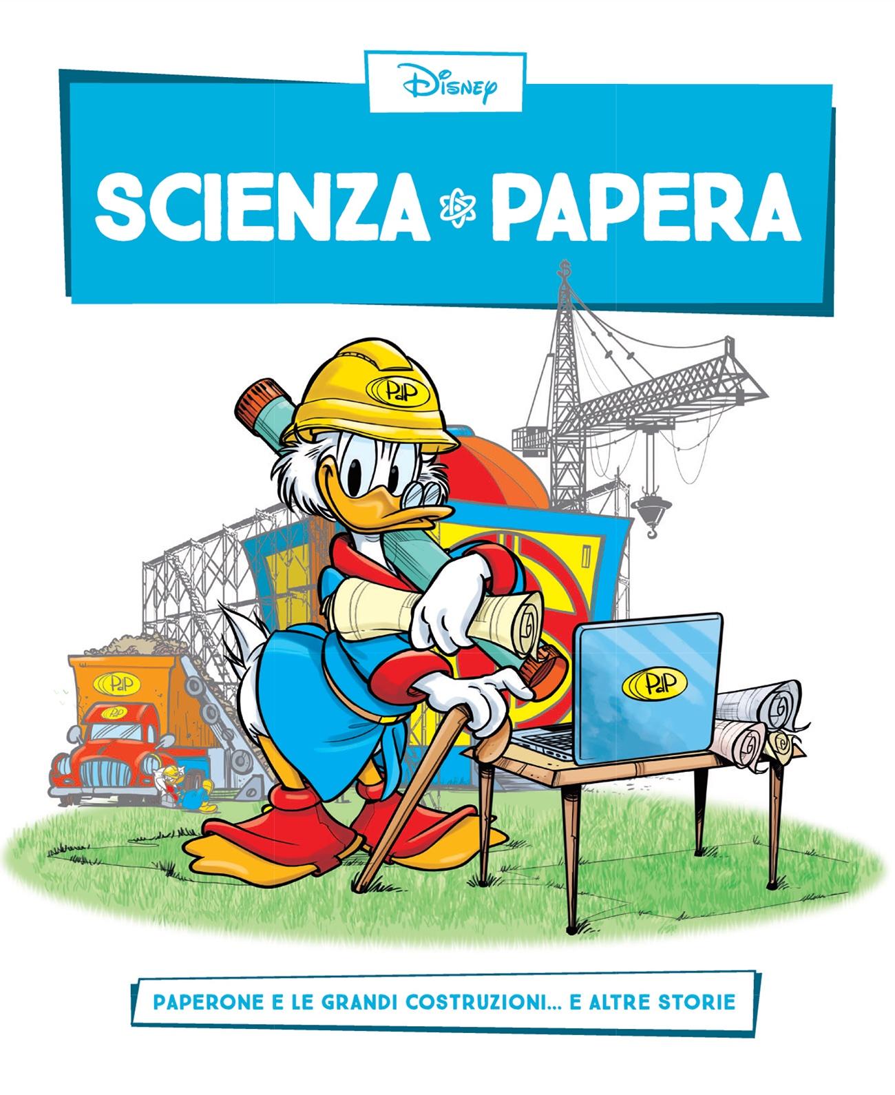 Cover Scienza Papera 8 - Ingegneria e grandi opere