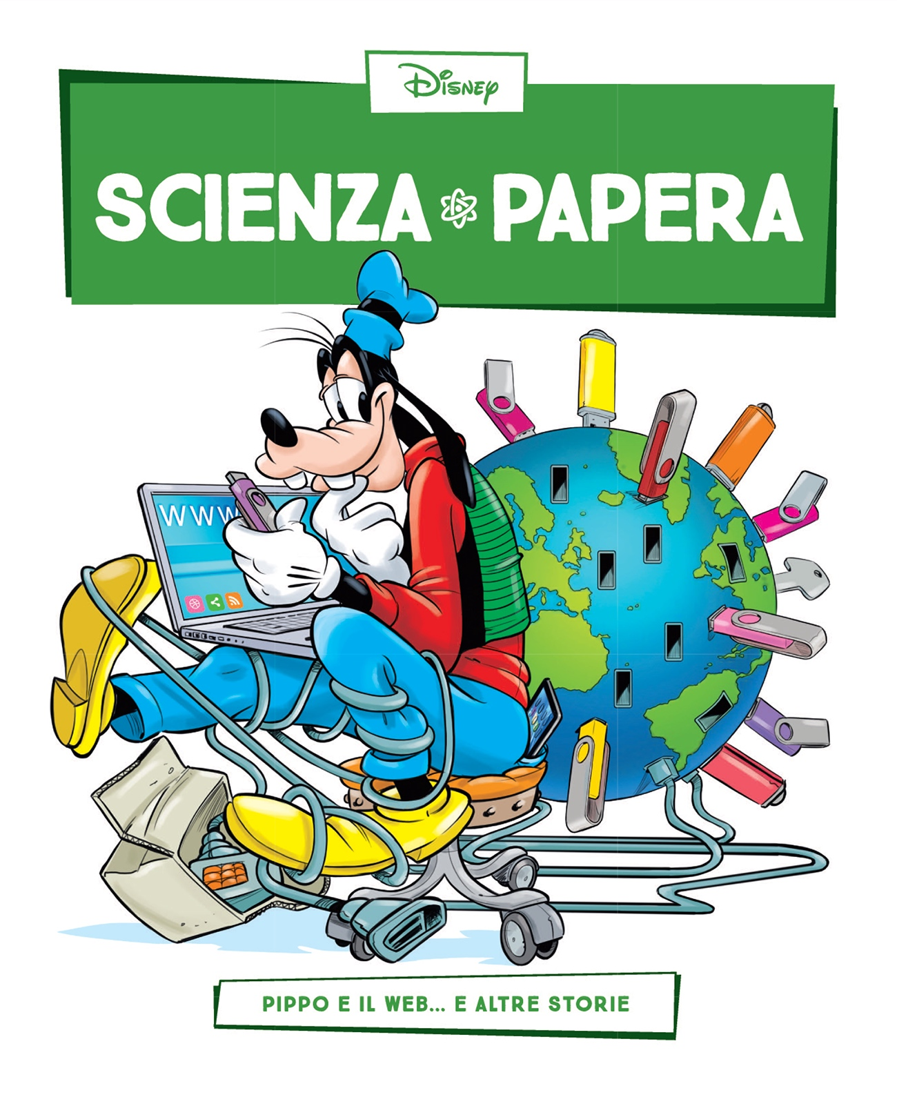 Cover Scienza Papera 9 - Internet e web