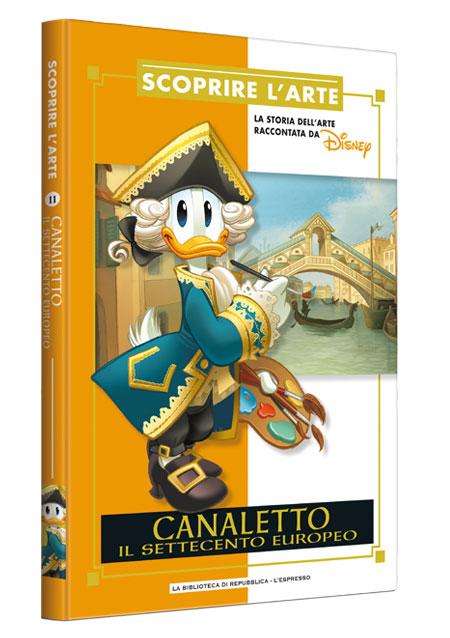 Cover Scoprire l'arte 11 - Canaletto. Il settecento europeo