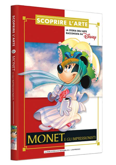 Cover Scoprire l'arte 13 - Monet e gli impressionisti