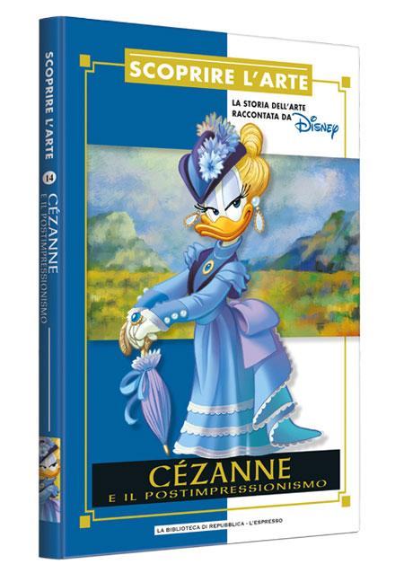Cover Scoprire l'arte 14 - Cézanne e il postimpressionismo