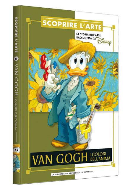 Cover Scoprire l'arte 15 - Van Gogh. I colori dell'anima