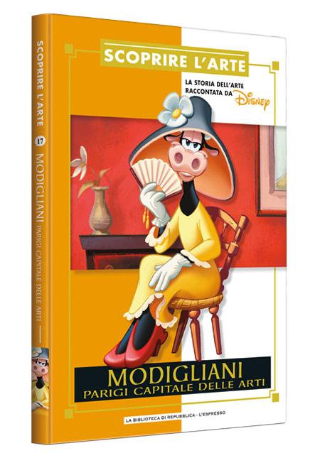 Cover Scoprire l'arte 17 - Modigliani. Parigi capitale delle arti